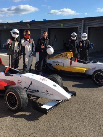 Stage de pilotage monoplace Formule Renault